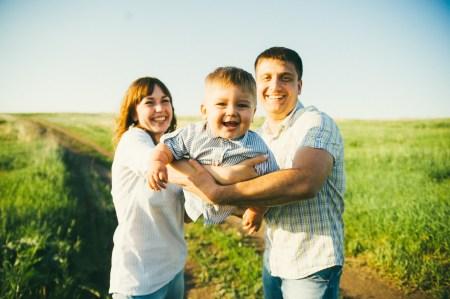 В чистом поле: семейная фотопрогулка