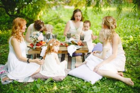 Время для счастья: пикник в парке