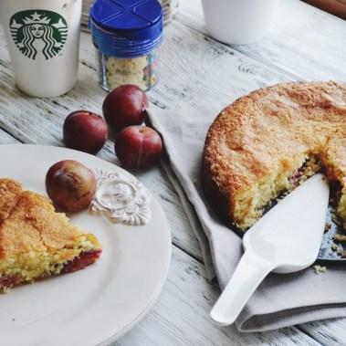 Быстрый рецепт пирога со сливой