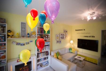 Интерьер недели: дом разноцветных окон