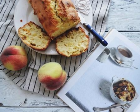 Рецепт персикового хлеба