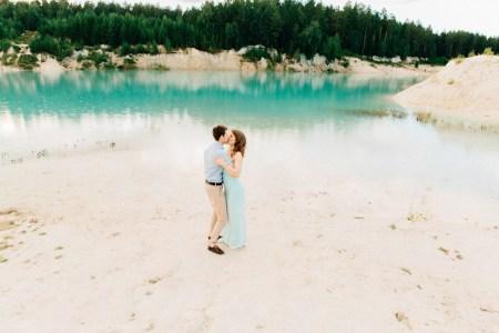 Голубое озеро: love-story Вити и Юли
