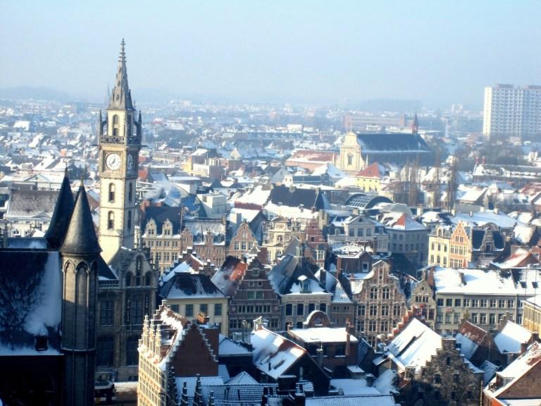 Зимняя сказка: прогулки по городам Бельгии