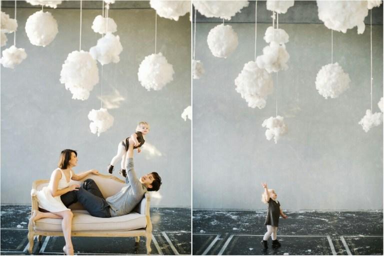 Среди облаков: Саша, Саша и Тая