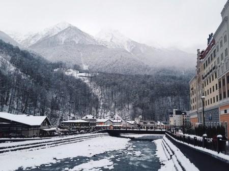 Российский Диснейленд: путешествие в зимний Сочи