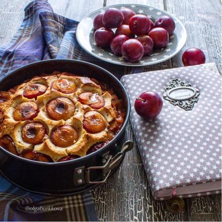 Рецепт пирога со сливами