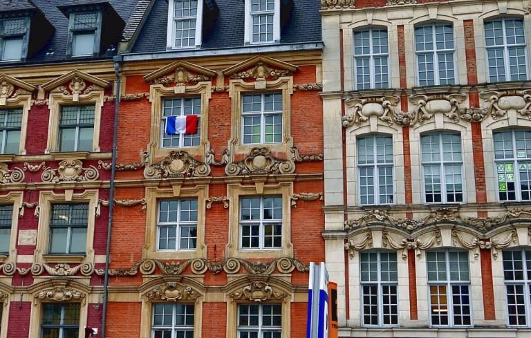 Один день в Лилле, Франция
