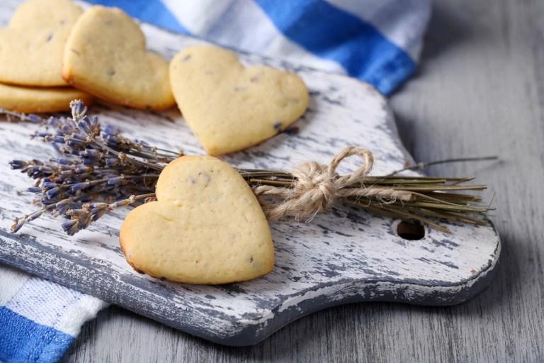 Нежнейшее печенье с лавандой