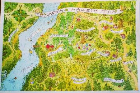 Книги: «В нашем лесу», Н. Риттина