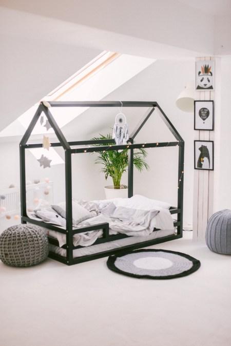 Кроватки-домики для самых стильных деток