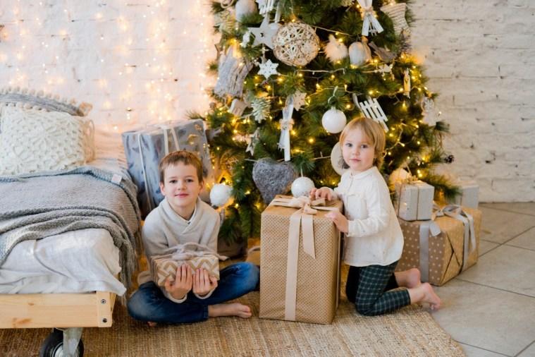Семейная новогодняя фотоистория