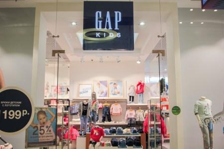 Открытие магазина GAP Kids & Baby в ЦДМ на Лубянке
