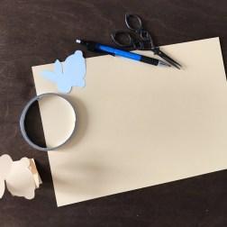 Пасхальные кольца для салфеток из бумаги