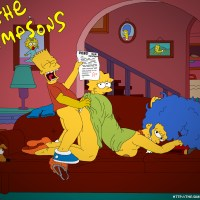 Bart Simpson pummeled Marge Simpson and want tear up Lisa after