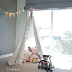 Mind Kids Bedroom Teepee Kids Diy Kids Teepee Instructions Sew No Sew Super Easy Andcheap To Diy Kids Teepee Thud Teepee