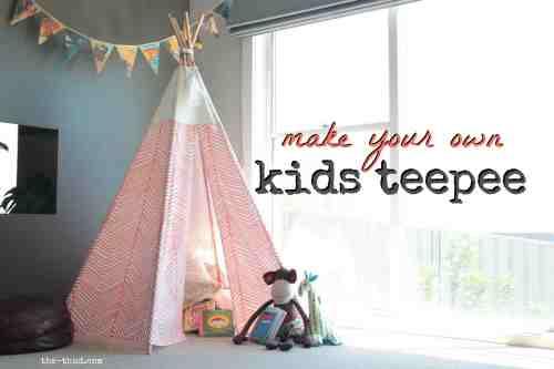 Medium Of Teepee For Kids