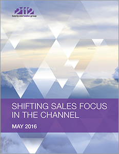 Shifting Sales Focus in the Channel