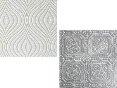 Amazing Discovery: paintable wallpaper!