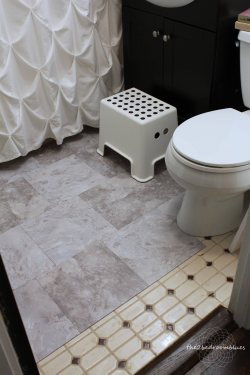 Small Of Tile Over Tile