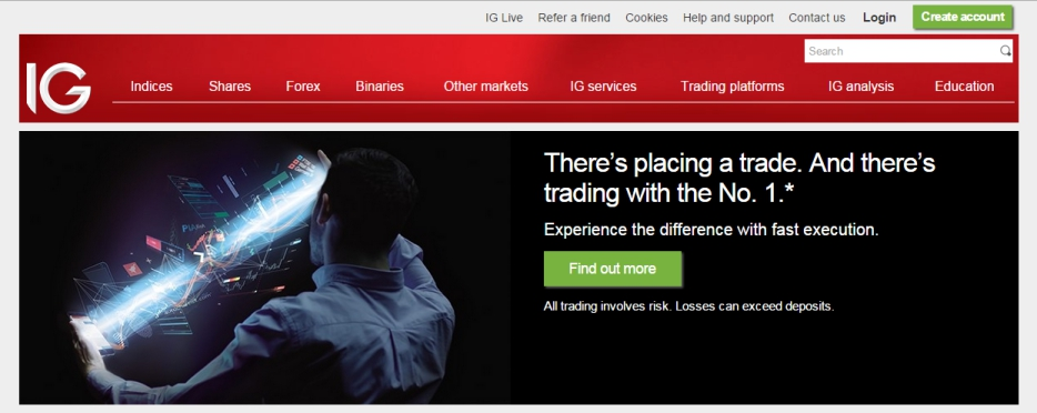 Ig Spread Betting Demo Account - image 8