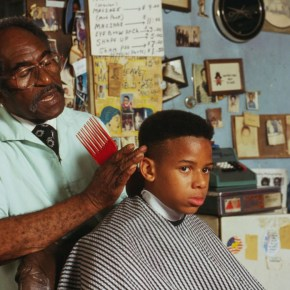 LOC-1994-Louis-McDowell-gives-Michael-Young-a-haircut-the-cut-is-called-a-high-top-fade2-1024x696