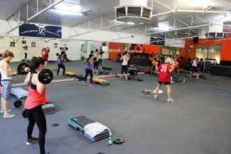Body Pump at North Adelaide Fitness