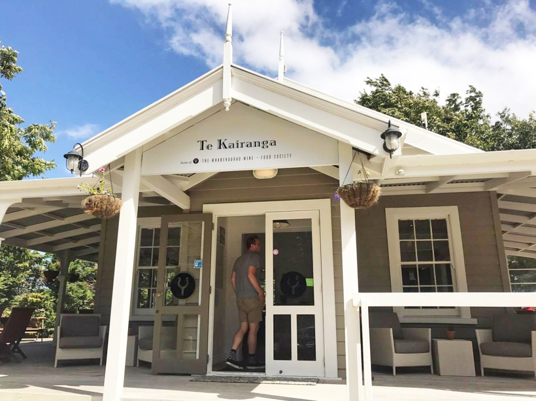Stepping into the Te Kairanga cottage cellar door