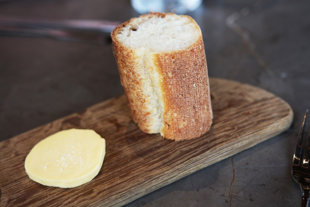 Still dreaming of this bread 'n' butter.