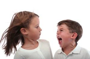screaming kids