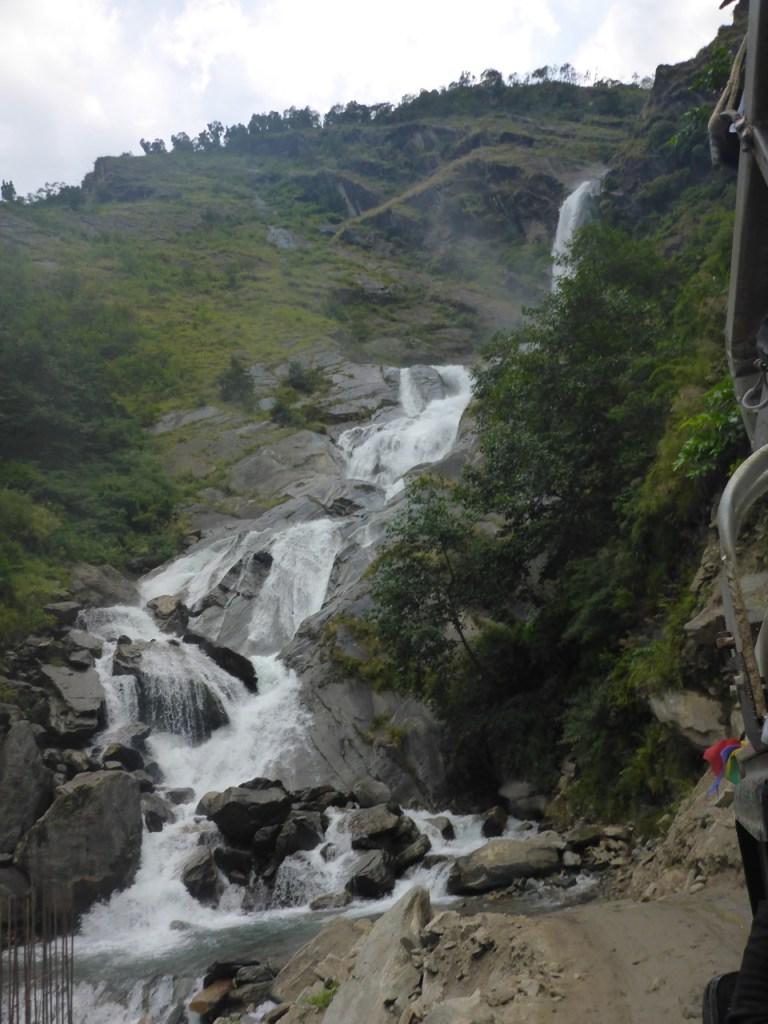 Waterfall on The Road to Totapani, Nepal