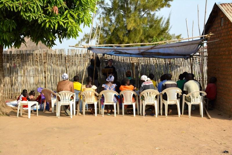 South Sudan - preaching