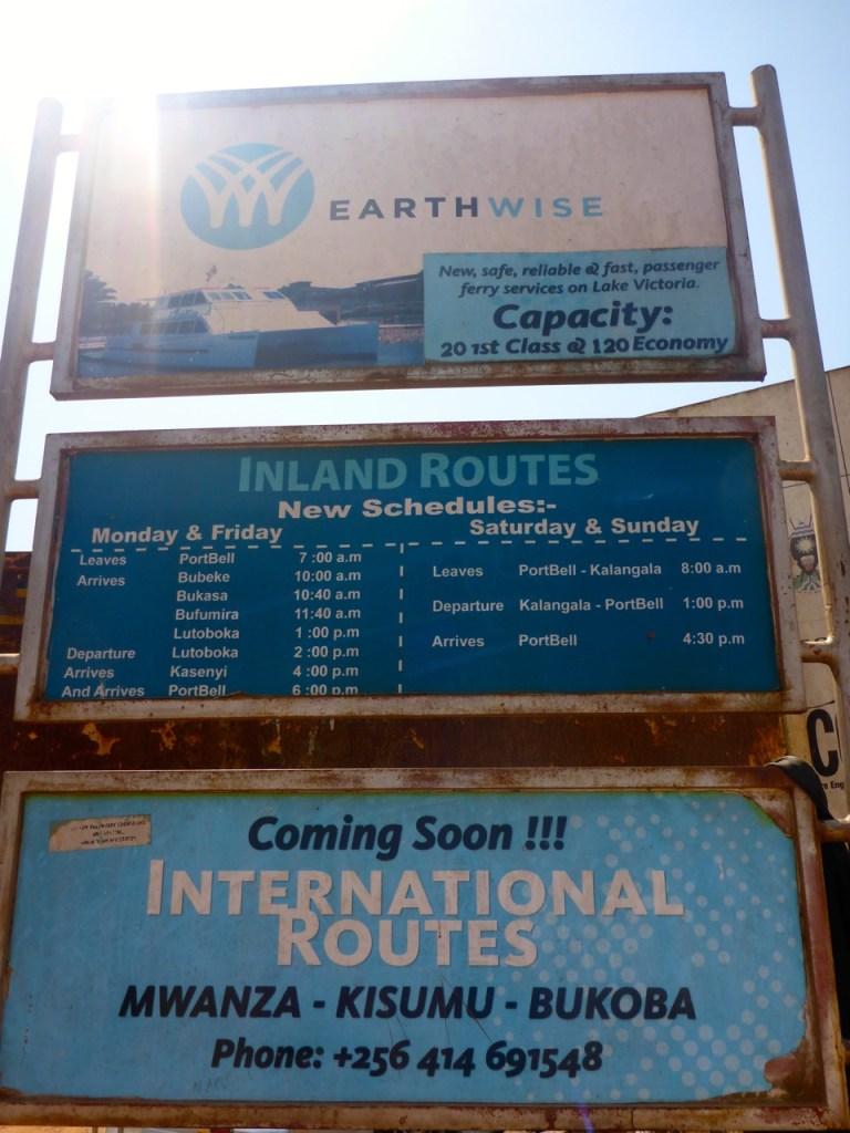 No Ferry from Kampala to Mwanza