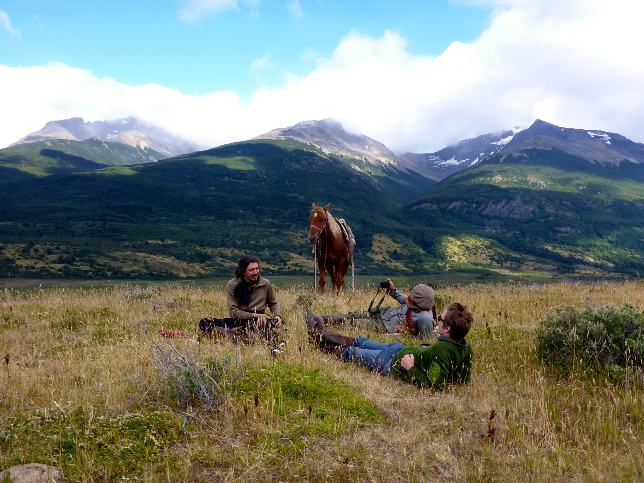 Horseback Riding Pingo Salveje Cabalgata Patagonia Chile