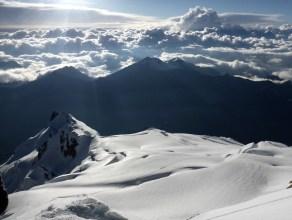 Summit of Huayna Potosí