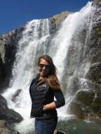 Waterfall in Tavan Bodg National Park; Western Mongolia