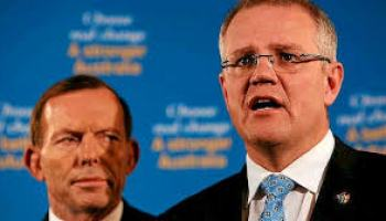 Tony Abbott's only claim to fame: persecuting the utterly helpless.
