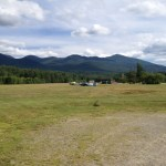 The O-1, in former military and current civilian hands, often saw use towing gliders. It can operate from turf runways like this one, the Franconia Airport in New Hampshire (Air Cache Photo/John M. Guilfoil)