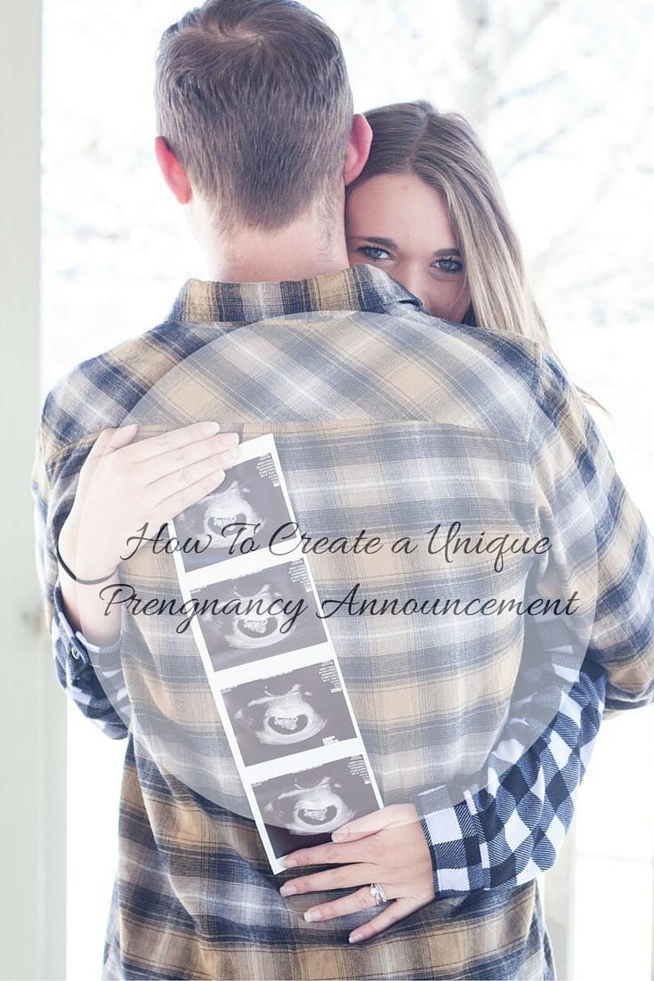 Pinterest Pregnancy Announcement