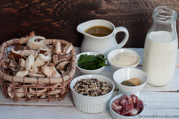 Creamy Mushroom and Wild Rice Soup with Pancetta | The ...