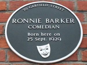 RonnieBarkerPlaque