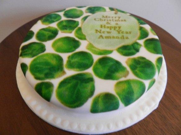 Baker Days Christmas Cake
