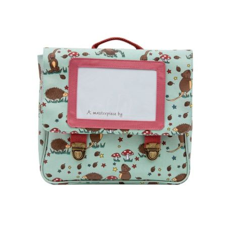 Pink Lining Bag Satchel