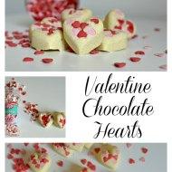 Handmade Valentine Gift : Chocolate hearts