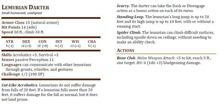 Lemurian Darter