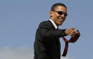 A Happy President Obama