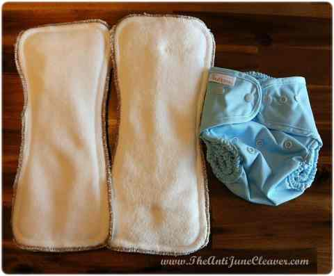 Buttons cloth diaper