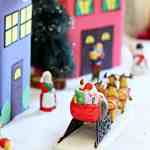 How to Make a DIY Cookie Box Christmas Village