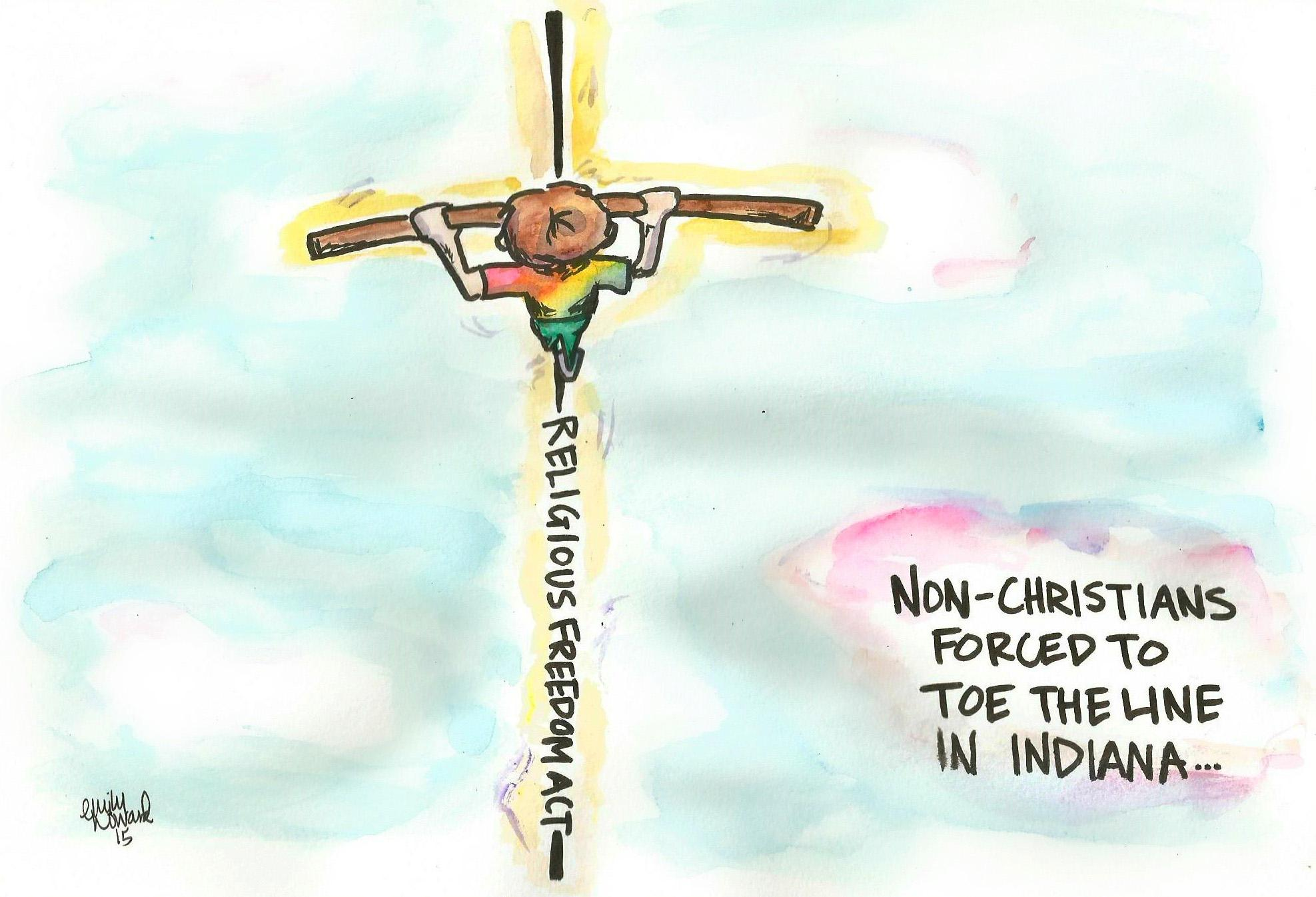 CARTOON: Religious Right appeals to hatred, prejudice