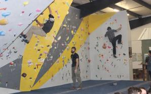 New climbing gym hosts grand opening