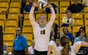 Volleyball swept in annual Black and Gold tournament